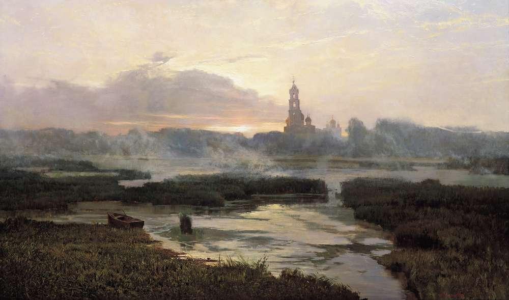 Утро Серафимо-Дивеевской Лавры - Афонин Александр Павлович