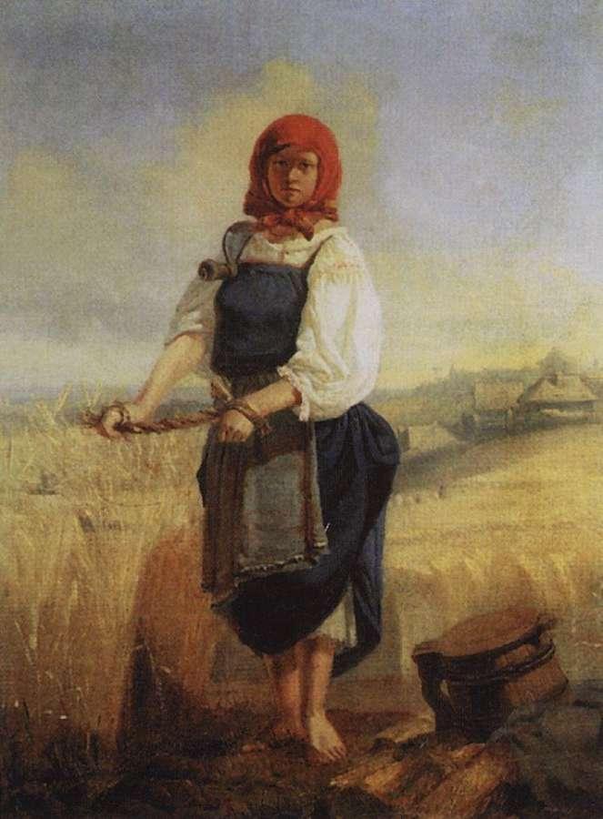Жница 1867 васнецов виктор михайлович