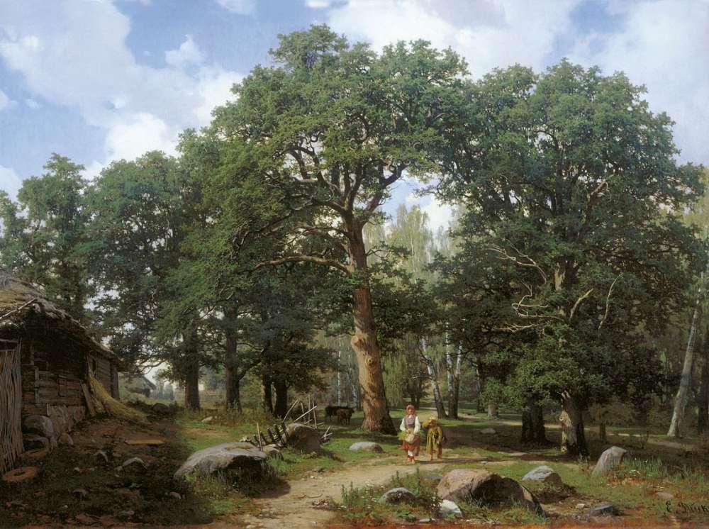 дубовый лес в окрестностях ревеля 1862: www.liveinternet.ru/showjournal.php?journalid=3717443&jday=31&jyear...