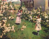 borisov-musatov_flowers_in_may_1894 - Борисов-Мусатов