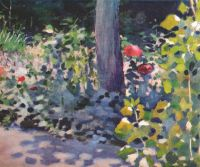 borisov-musatov_poppies_in_a_garden_1894 - Борисов-Мусатов