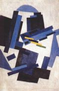 rozanova_abstract_composition_mid-1910s - Розанова